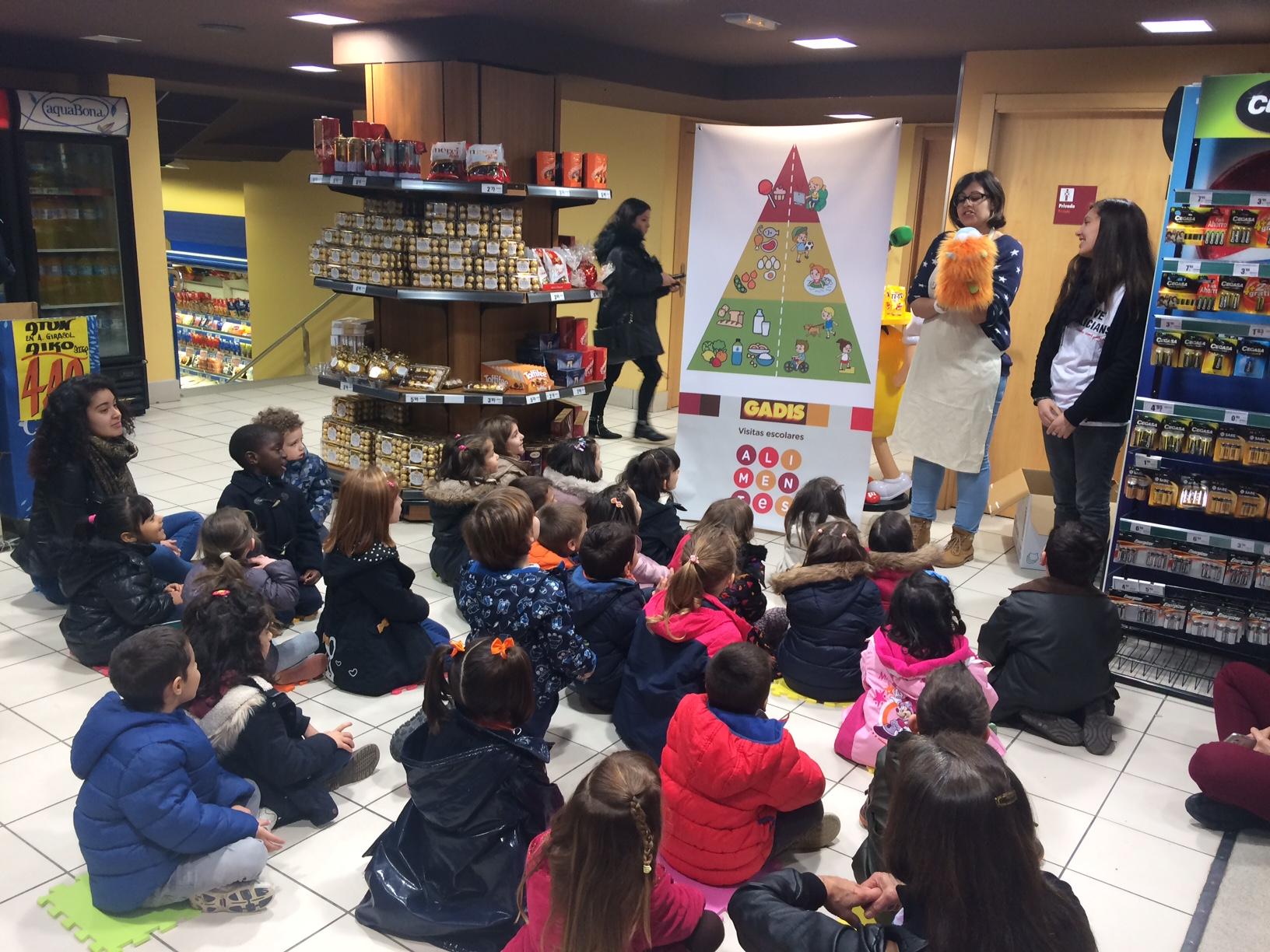 Más de 7.000 alumnos de Infantil y Primaria participan en las visitas escolares, ALIMENTES