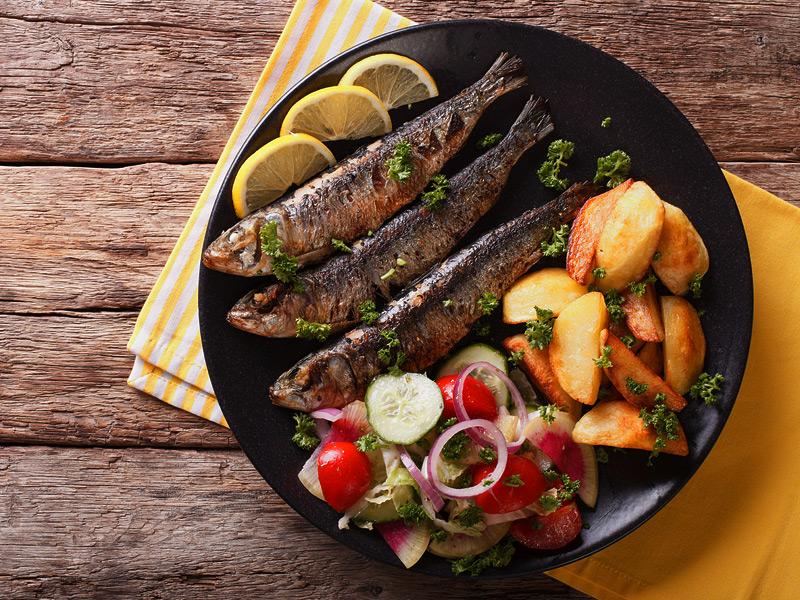 ¿Qué pescado es mejor para cenar?