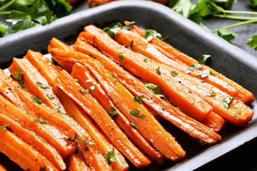 Recetas de verduras al horno saludables para niños